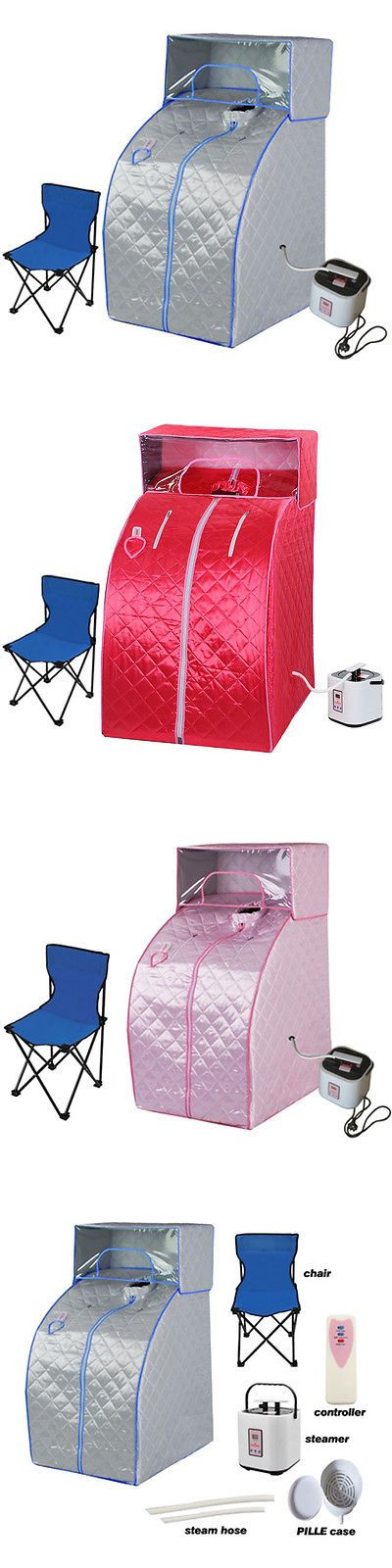 Saunas 181054: Portable Steam Sauna Tent With Head Cover Full Body Spa Weight Indoor Loss -> BUY IT NOW ONLY: $74.99 on eBay!