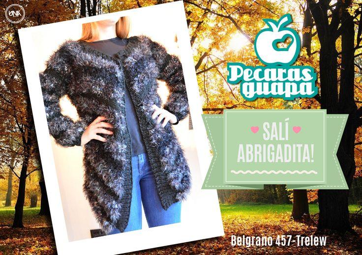 #promo #invierno  #pecarasguapa #trelew #liquidacion #tapado #abrigo #unaestudio