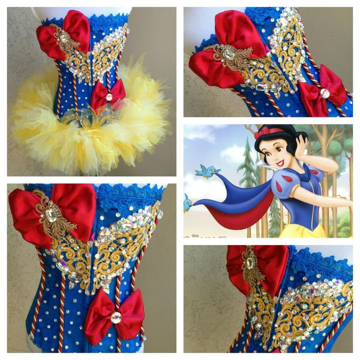 Snow White corset by electriclaundry
