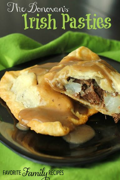 Irish Pasties are a MUST in our family every St. Patrick's Day... ok, we eat…