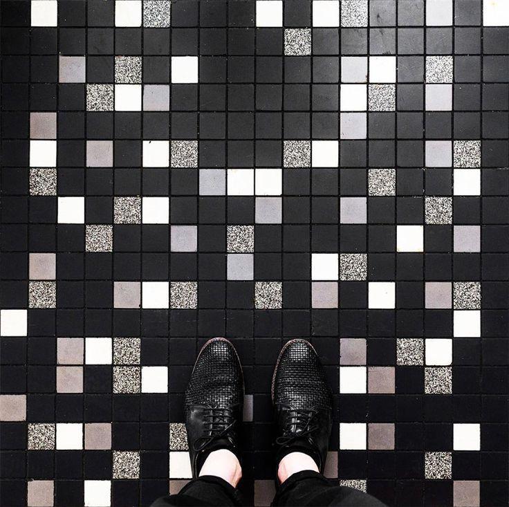 slection instagram de la semaine parisianfloors - Matchstick Tile Castle 2016
