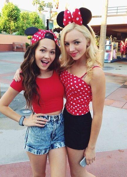 Disney Channel stars Payton List and Kelli Berglund.