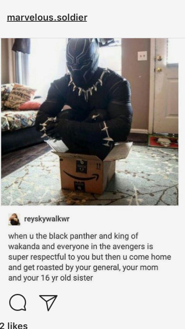 Black Panther. Marvel