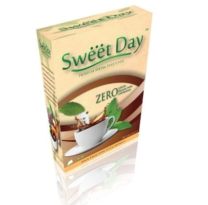 SWEETDAY Stevia - 100 Sachets SWEETDAY http://www.amazon.in/dp/B00JSJU81U/ref=cm_sw_r_pi_dp_00n0wb0STA7NQ
