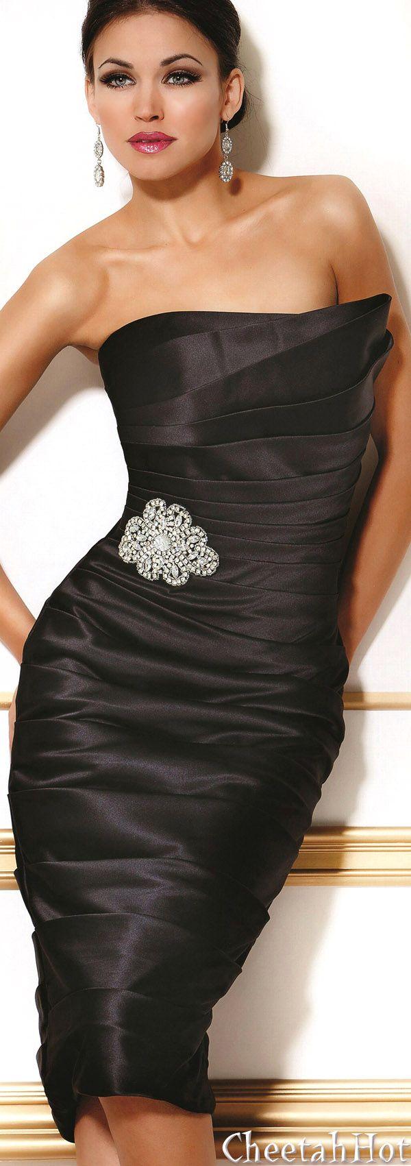 JOVANI - Sleek & Lovely Gown - bridesmaid