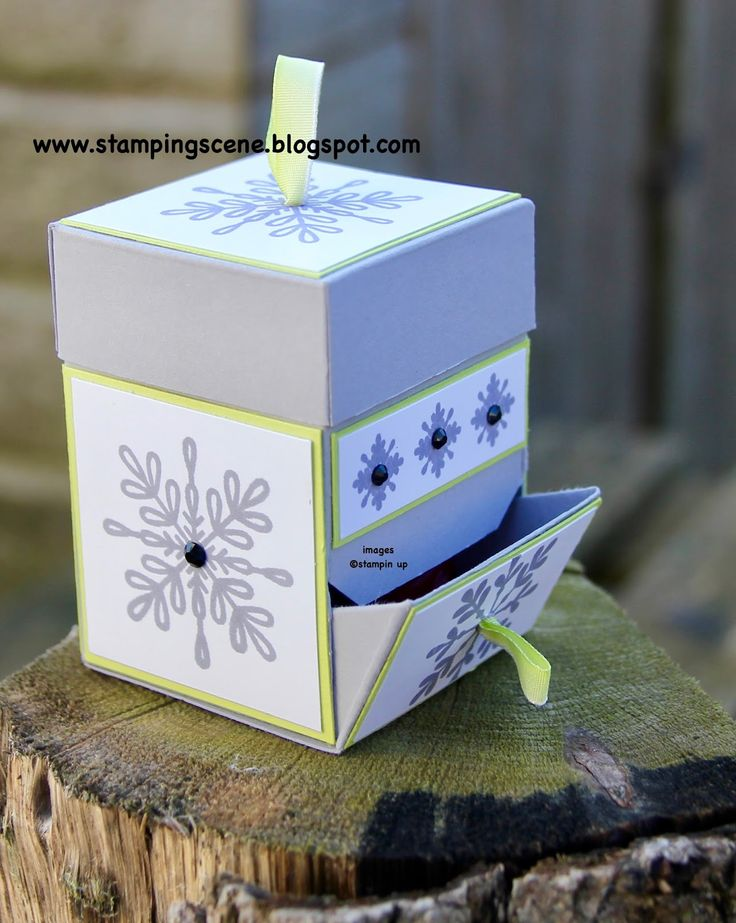 box tutorials stampin up uk blog hop gift wrap