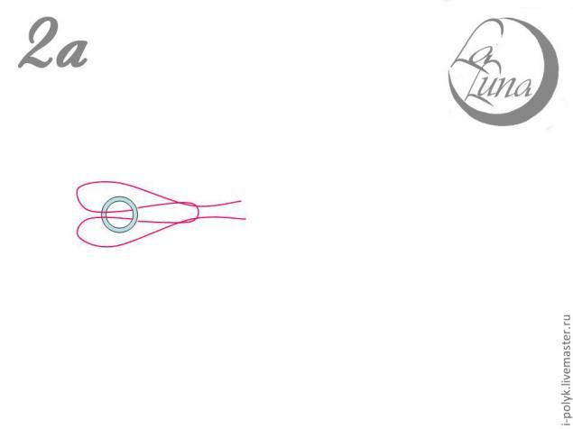 Это плетение я придумала, когда собирала бусы с небольшими цветочками из атласных лент и бабочками из полимерной глины. Сложность состояла в том, чтобы при носке эти элементы не переворачивались. Поэтому такой способ оплетания бусин бисером подойдет для тех, кто занимается лепкой и сборкой цветочных колье. Материалы: Бисер Бусины Мононить Инструменты: Иглы для бисера 2 шт.