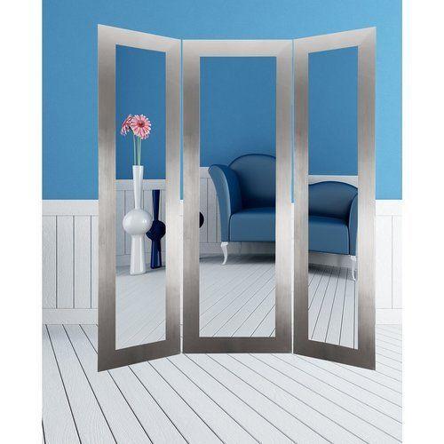Full-Length-Mirror-Free-Standing-Floor-Large-Trifold-Room-Divider-Bedroom-Foyer