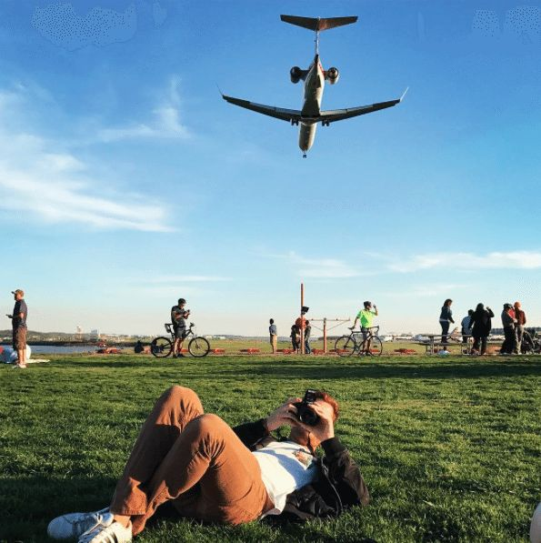 The Best Picnic Spots in DC   What To Do In Washington, DC   Cheap Date Ideas   Gravelly Point Park For Watching Planes Land
