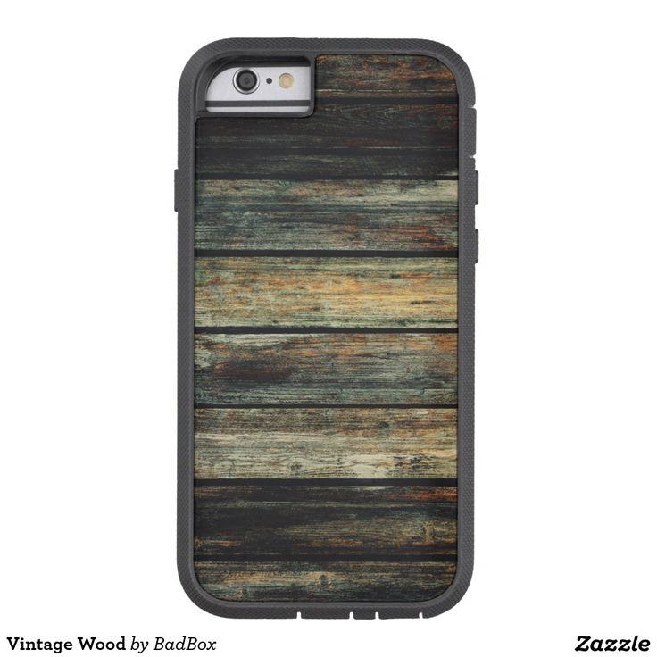 Vintage Wood Tough Xtreme iPhone 6 Case