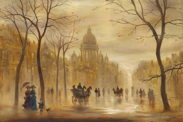 watercolor paintings_city-art_акварель_город
