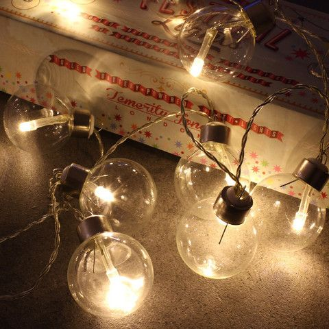 These battery operated festoon lights have so many uses. Indoors they can be placed on bedframes and in vases or outdoors draped under umbrellas for extra light. Why not style them in your wedding decor for a vintage look.