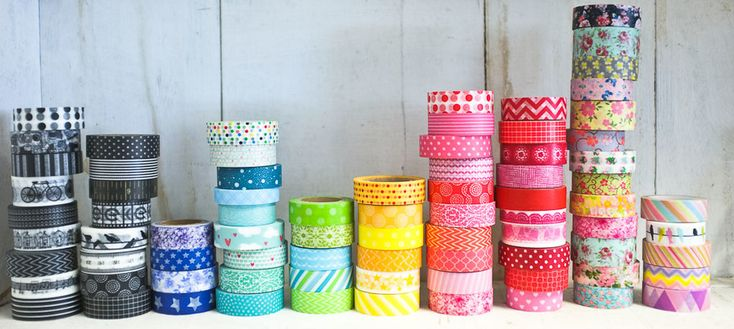 Ways with washi tape on your walls | Blinds Supermarket