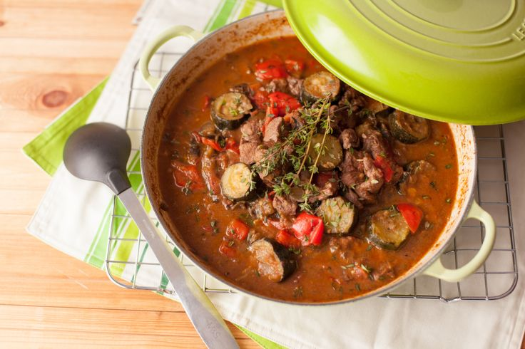 Provencal Lamb Stew – The slow cooking of this lamb dish lends it a mellow flavour. Be sure to gently simmer it, as boiling the stew will make the lamb tough. Get the recipe here http://www.ilovecooking.ie/recipe/provencal-lamb-stew/
