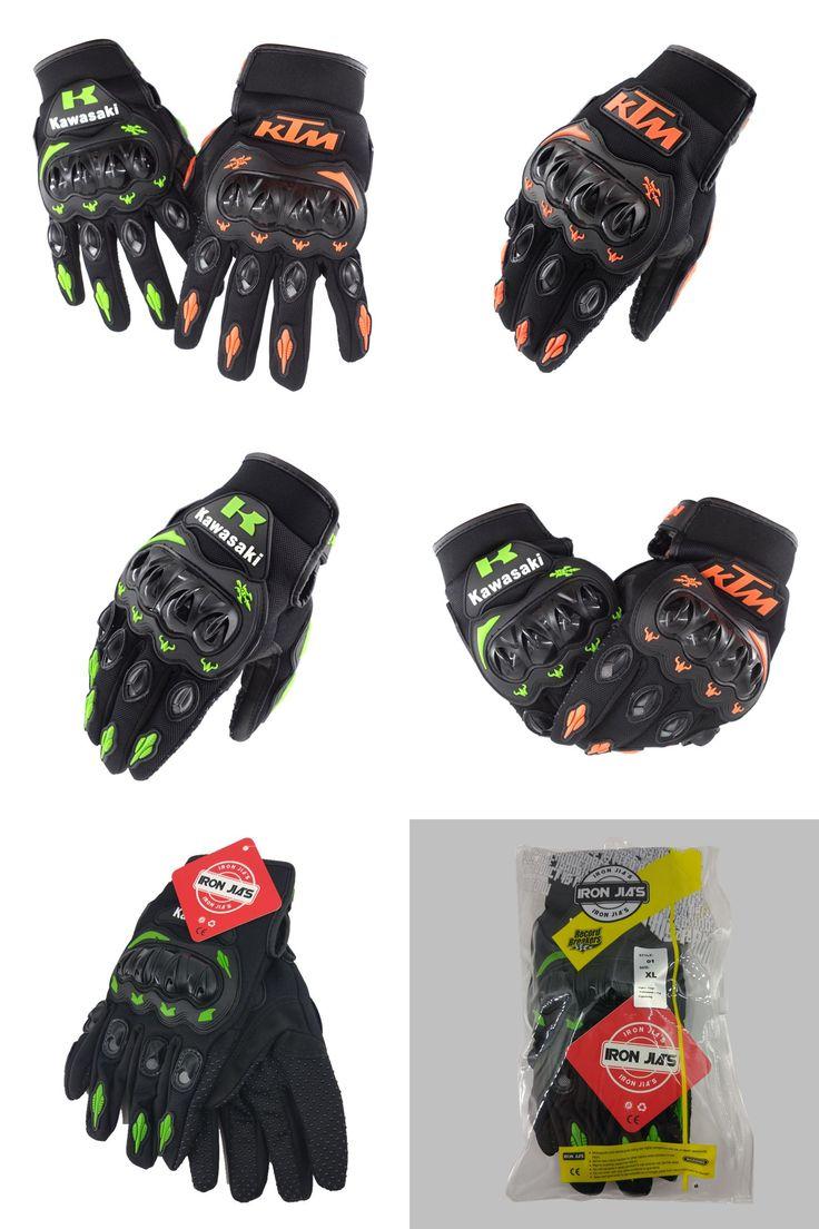 Japanese leather motorcycle gloves - Summer Winter Full Finger Motorcycle Gloves Gants