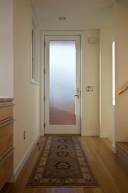 Front Door With Frosted Glass Home Pinterest