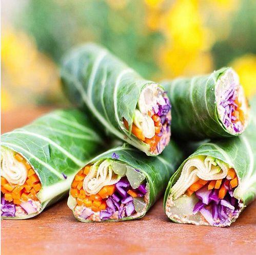 Let's Cook Vegan, le compte Instagram healthy food et ses recettes détaillées Wraps végétariens