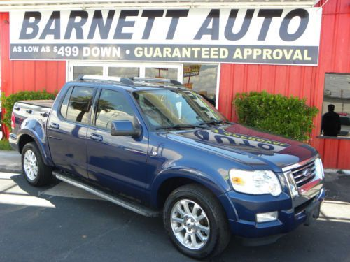 2007 Ford Explorer Sport Trac Limited Crew Cab Pickup 4-Door 4.6L, US $17,000.00, image 1