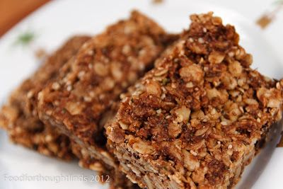 Food for Thought: Super-Powered Granola Bars