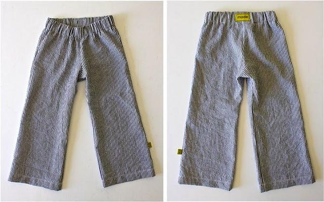 Free Pattern & Tutorial. Basic Kid Pant