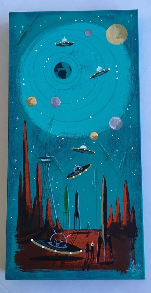 358 best el gato gomez sci fi images on pinterest for Retro outer space