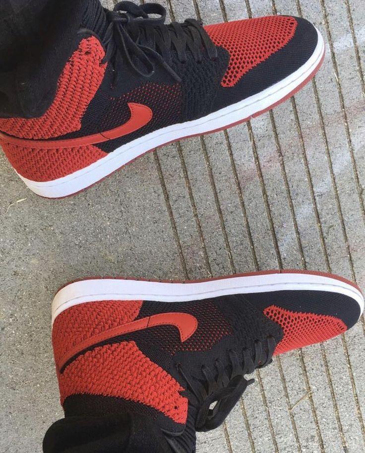 Fabolous wears the Air Jordan 1 Flyknit sneakerbardetroit.com/air-jordan-1-o…