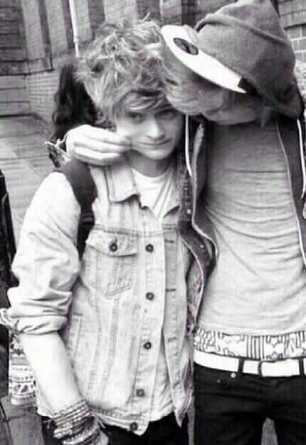 Connor is so cute << Agree! Tristan is just like the bigbro and Connor is his little brother