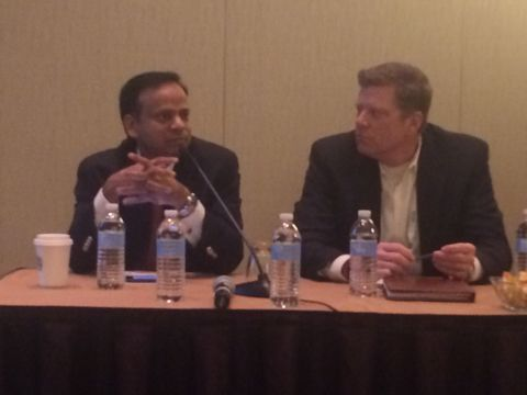 Yogendra Goyal, SVP, WNS speaks on managing sourcing complexity within a hybrid ecosystem, at The IAOP 2015 Outsourcing World Summit