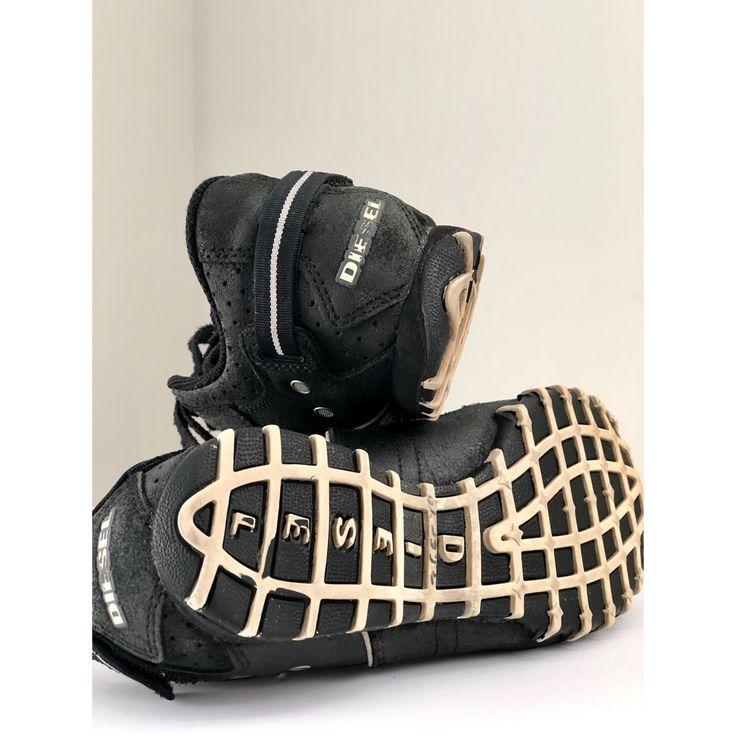 Diesel Shoes | {Diesel} Apollo Sneakers | Color: Black ...