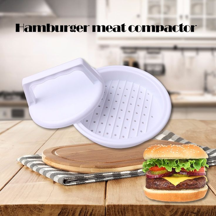 DIY Hamburger Meat Press Tool Patty Makers Meat Burger Maker Mold Food-Grade Plastic Hamburger Press Burger Maker Barbecue