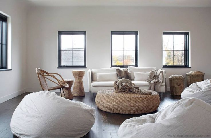 Like the idea for bean bags in attic for short term.  We have a few to start with.  Minimalist Home Decor Ideas | StyleCaster