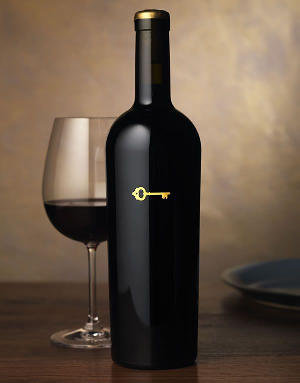 The right #key | #winelabel | Sinegal Estate Wine Label & Package Design
