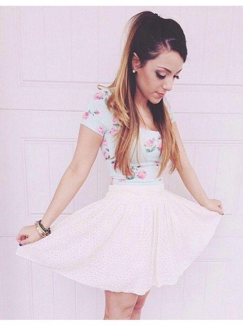 Gabi looks like Ariana Grande.. love it! | ~《♥Niki and ...