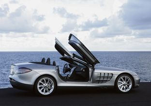 Mercedes-Benz Mclaren SLR Roadster