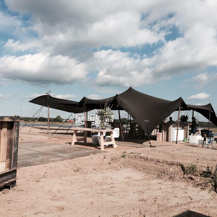 Event - Bedouin Stretchtent - nieuwbouw - bouwplaats - business event