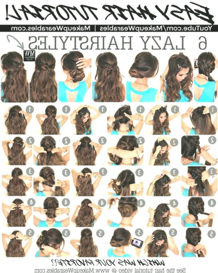 In this hair tutorial video, learn how to create 6 easy, 5 minute, lazy hairstyl...