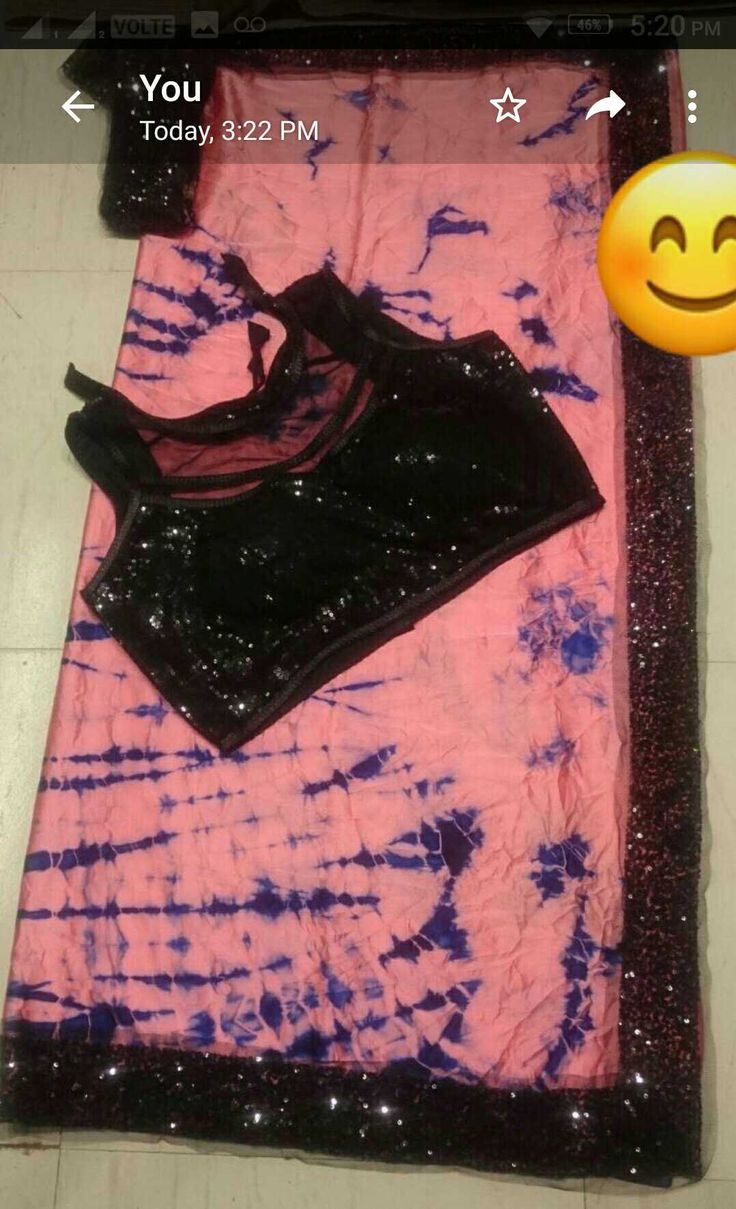 Satin silk saree with shibori print anf full sttiched sequnev work  blouse,sleeves inside attached, size upto xxxl