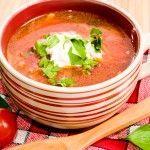 Tomatsuppe - på italiensk facon - Italiensk Mad .com
