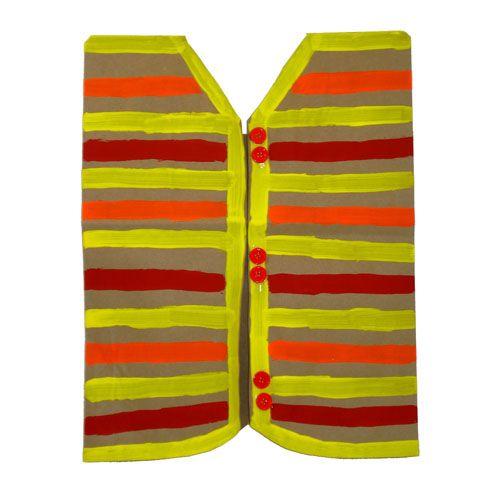 Grocery Bag Vest, Cute!! Elmers.com
