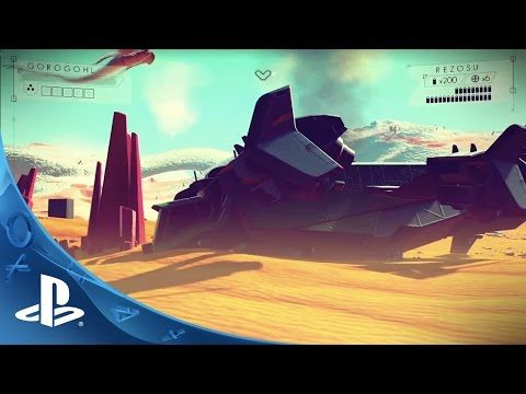 No Man's Sky at The Game Awards | PS4 - YouTube
