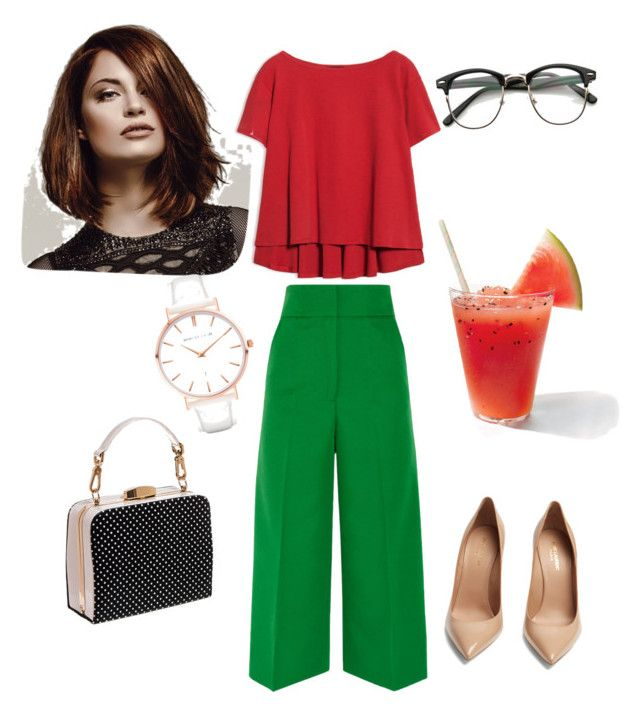 """""""2 цвета"""" by dilmirai on Polyvore featuring Max&Co., Marni, Yves Saint Laurent and Abbott Lyon"""