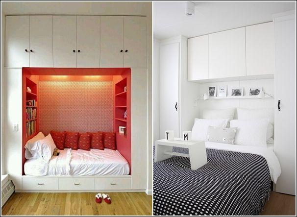 oltre 25 fantastiche idee su piccole camere da letto su pinterest ... - Idee Per Arredare Camera Da Letto