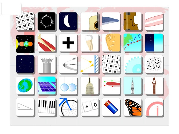 Elegant Montessori based games at Poisson Rouge and Encyclopedia Interactica