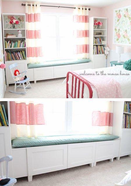 mommo design: IKEA HACKS FOR KIDS - BESTA WINDOW SEAT