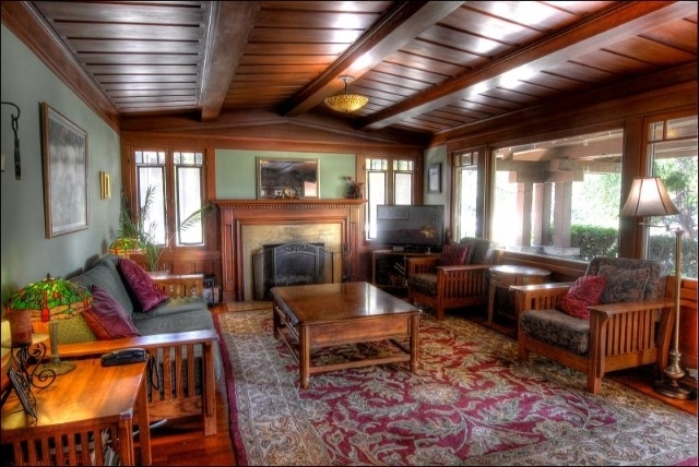 Arts And Crafts Style Living Room: 48 Best Images About Mission Style Living Rooms On