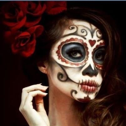 13 best day of the dead makeup costumes images on. Black Bedroom Furniture Sets. Home Design Ideas