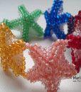 Star rainbow bracelet.