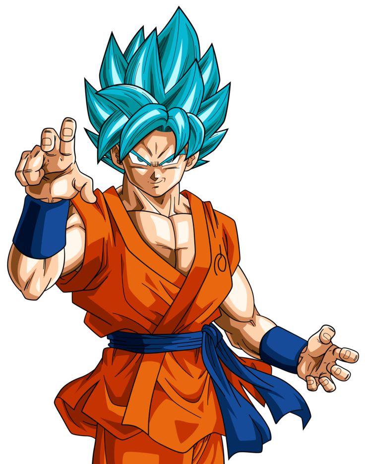Super Saiyan Blue Goku #4 Alt Palette by RayzorBlade189 ...