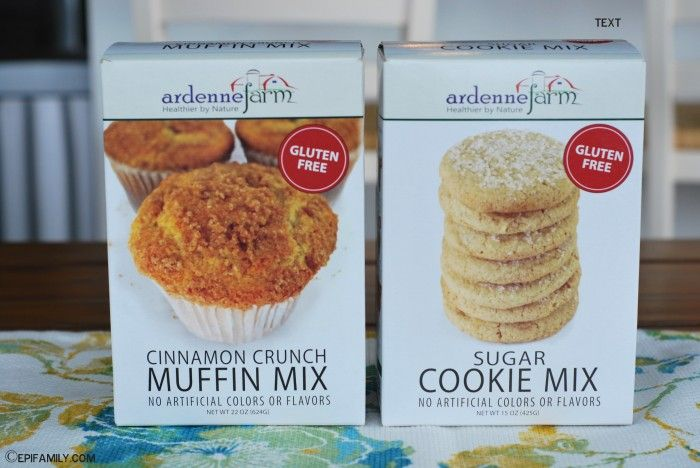 Ardenne Farm Baking Mixes - Gluten-Free, Nut-Free and many can be made top 8 free with substitutions.  ~www.EpiFamily.com
