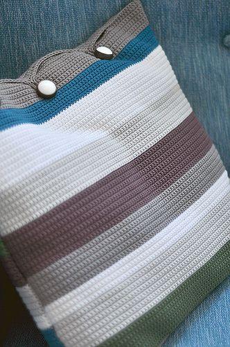 Crochet cojin